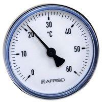 """0-120°C // Stückpreis je 3,78€ 6 Stück Bimetall Thermometer 63 mm 1//2/"""" DN 15"""