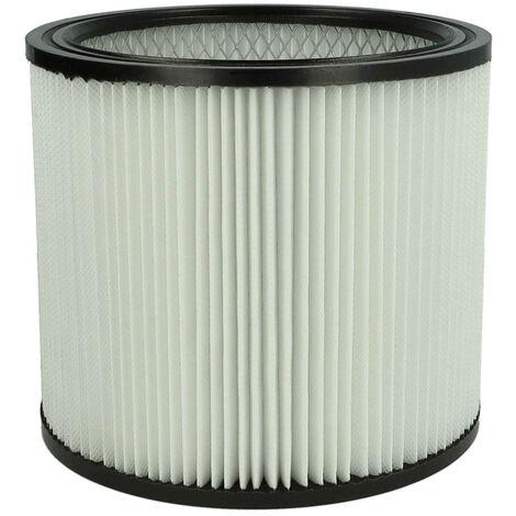 vhbw Rund-Filter / Falten-Filter passend für Staubsauger, Saugroboter, Mehrzwecksauger ShopVac Pump Vac 45