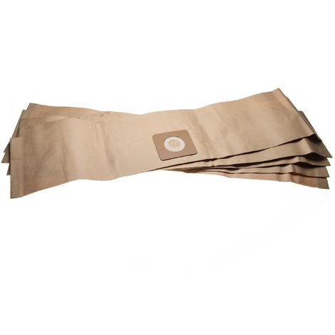 vhbw 5x bolsa reemplaza Bosch 2609256F32 para aspiradora - papel, 85.95cm x 19.9cm, marrón