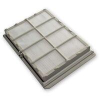 vhbw Filtro de salida de aire Hepa de recambio para alérgicos para aspiradoras Siemens Power Edition Evolution 2000W