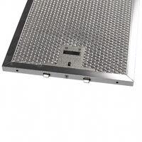 vhbw Filtro Permanente metálico para grasa compatible con Miele DA 219-1, DA 219-2, DA 219-2 EXT Campana extractora metal