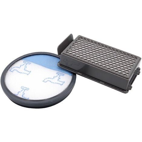 vhbw Kit de 2 filtres pour Rowenta RO3718EA, RO3724EA, RO3731EA, RO3753EA, RO3786EA, RO3798EA Aspirateur HEPA Filtre à air d'échappement