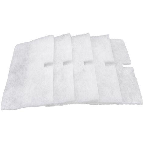 vhbw 5x filtres compatible avec Lunos ALD 36,5 passage d'air extérieur - 120 x 220 mm - remplace 9/FALD, 34703, 034 703