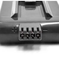 INTENSILO Li-Ion batterie 2500mAh (22.2V) compatible avec Dyson DC12, DC16 aspirateur Home Cleaner robots remplace Dyson DC12, DC16