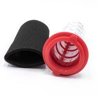 vhbw Lot de filtres (microfiltre + filtre mousse) pour Bosch Athlet BCH6ath25l/01, BCH6l2560/01, BCH6l2561/01, BCH6lng25/01, BCH6lng25/02