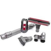 vhbw Lot d'accesoires pour aspirateur Dyson; sans fil, buse, brosse, adaptateur, support