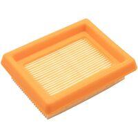 vhbw Filtre compatible avec Stihl FS400, FS450 Tarière à lames ou débroussailleuse; 8,8 x 7,1 x 2,5cm filtre à air