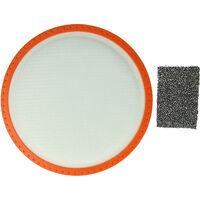 vhbw Lot de filtres compatible avec Dirt Devil Centec2 M2288-0, M2288-1, M2288-2, M2288-3, M2288-4, M2288-5, M2288-6, M2288-7, M2288-8, M2288-9