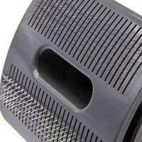vhbw Brosse pour chien compatible avec Dyson DC56, V6 aspirateur - Peignage d'animaux, auto-nettoyant, gris anthracite