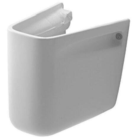 Cache-siphon pour lavabo D-code - Blanc