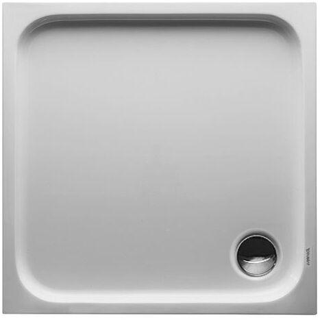 Receveur de douche Duravit D-code 800 x 800 mm - Acrylique Blanc