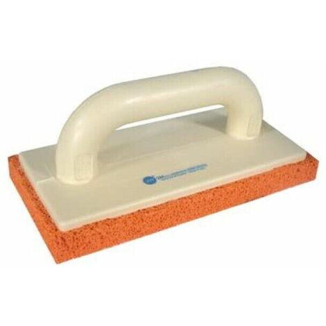Frattazzo in gomma spugna spumacel 23 europa 20mm arancio cellula fine 28 x 14cm