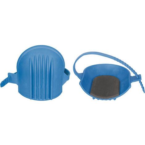 Ginocchiera ginocchiere piastrellista in blu