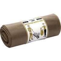 Sacchi per rifiuti edili confezione 15 sacchi 40x70 my 120 gr60 circa