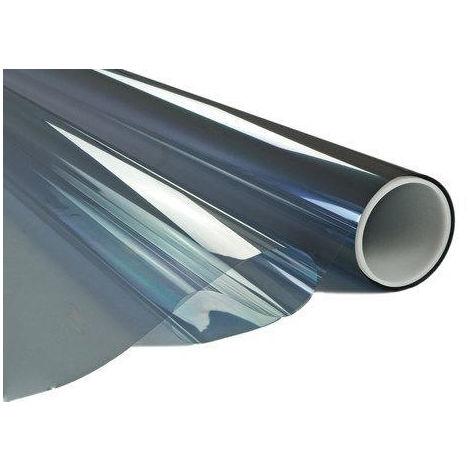 Film adhésif miroir argent pose intérieure - 0.75 m x 1 m (RA80)