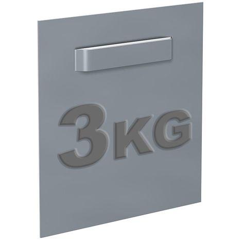 Attache Dibond 70 x 70 mm : max 3 kg