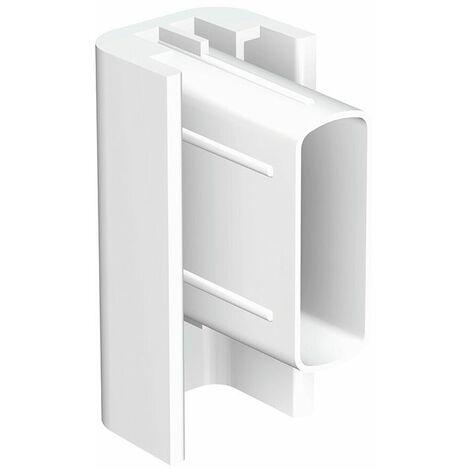 Embout de finition Cimaise Click Rail - Blanc (Peut être peint) - Blanc (Peut être peint)