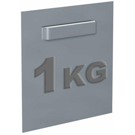 Attache adhésive Dibond 45x45 mm : max 1kg