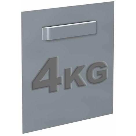 Attache Dibond 100 x 100 mm : max 4 kg