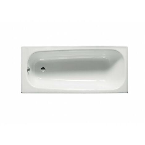 Bañera Roca Contesa 1400x700 Blanco plancha acero