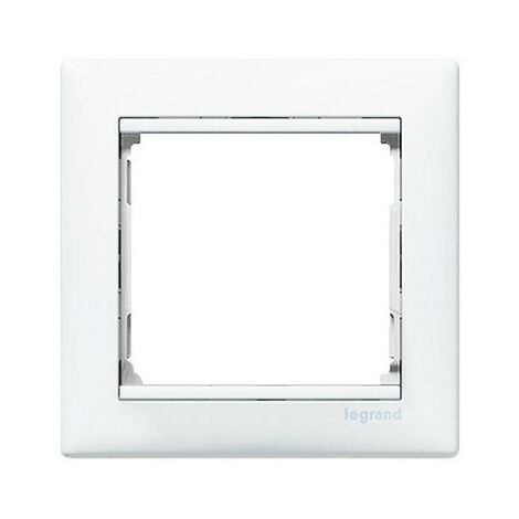 Marco 1 elemento horizontal Blanco Legrand Valena 774451