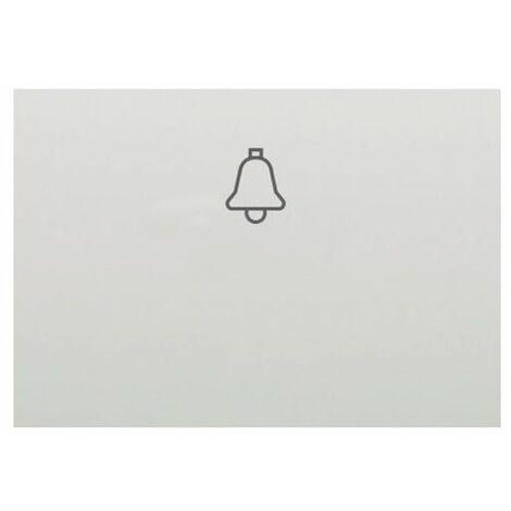 Tecla pulsador campana blanco BJC Coral 21716