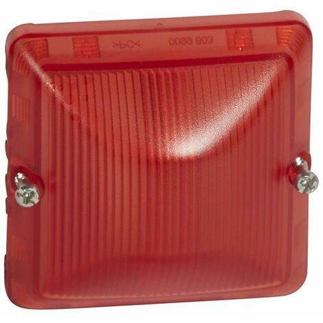 Difusor rojo Legrand Plexo 069591