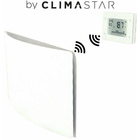 Emisor Térmico Cerámico Inercial Wish Multipotencia 500W / 1000W Blanco Wireless
