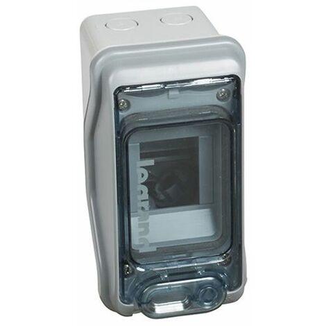 Cuadro automáticos estanco IP65 1 fila 2+1 módulos Legrand 601932