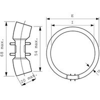 Lámpara fluorescente MASTER TL5 Circular 60W/840