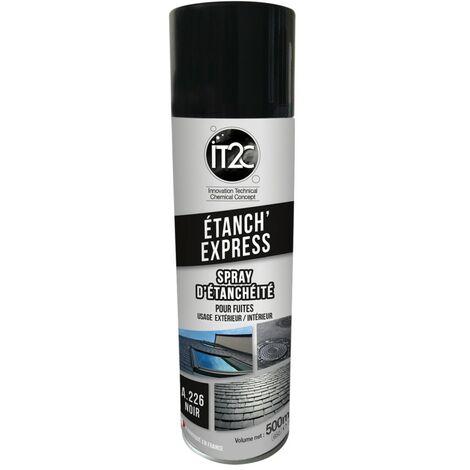 IT2C Etanch Express Spray Etanchéité Souple 500ml Noir
