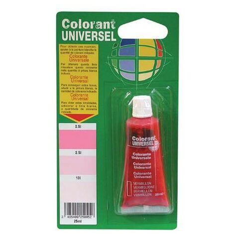 COLORANT UNIV. 25CC S/BL.VERMILLON (Vendu par 1)