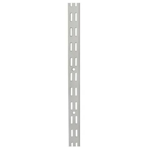 CREMAILLERE DOUBLE PAS DE 32 1M00 BLC (Vendu par 1)