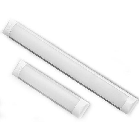 Réglette professionnelle LED Intégré 60cm (20W) ou 120cm (40W)   Dimension: 60cm-20W-1900lms