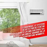 Radiateur céramique mural 2000W - Warm Tech