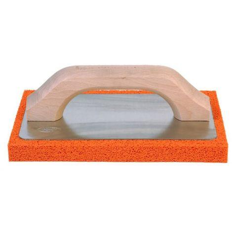 Frattone 220x135mm in gomma spugna per rasatura, colori arancio