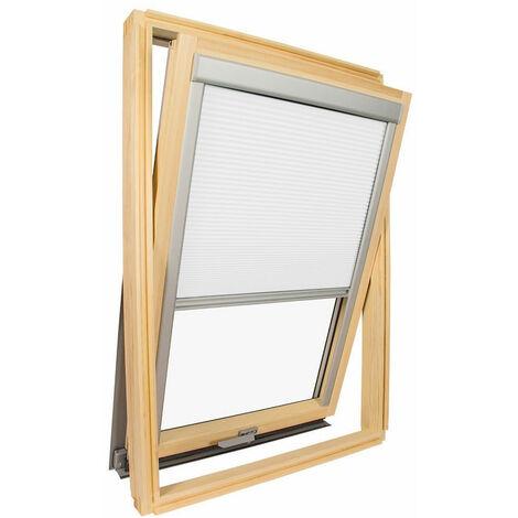 Store isolant pour fenêtre de toit Velux ® Blanc - Code dimension UK04 - Blanc
