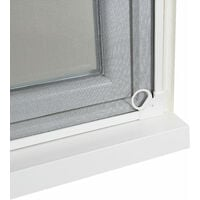 Moustiquaire cadre aimanté sans perçage - 1000 x 1200mm - Blanc