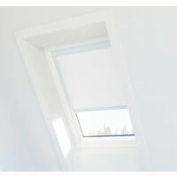 Store occultant compatible Velux ® CK02 - Blanc