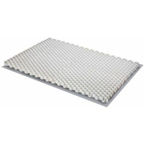 Stabilisateur de gravier Alveplac® - Jouplast - 1166x800x30 mm - A l'unité - Gris