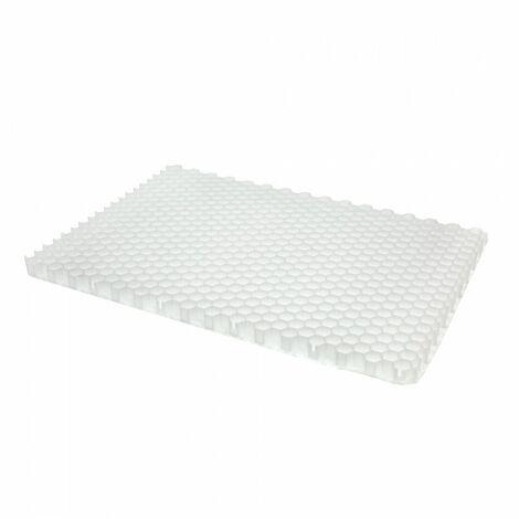 Stabilisateur de gravier Alveplac® - Jouplast - 1166x800x40 mm - A l'unité - Blanc
