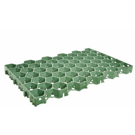 Dalle à engazonner GREENPLAC® - 600 x 390 x 40 mm - Jouplast - - Vert