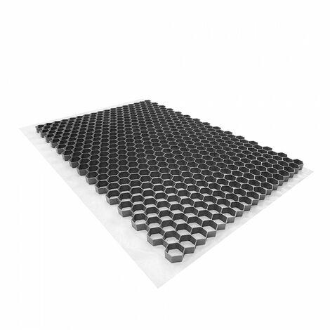 Stabilisateur de graviers 0,96 m² - Gris - 120 X 80 X 3 cm Gris - Rinno Gravel