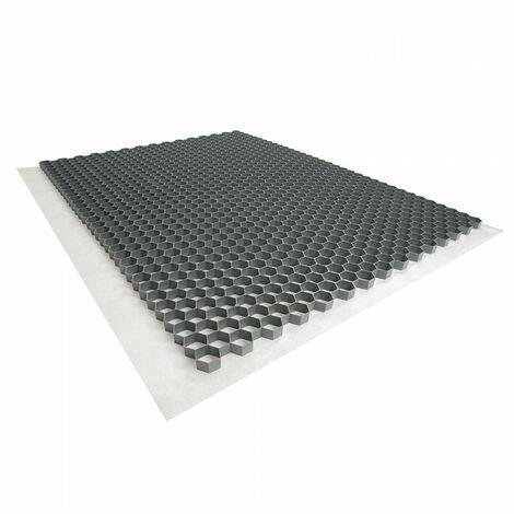 Stabilisateur de graviers 1,92 m² - Gris - 120 X 160 X 3 cm Gris - Rinno Gravel