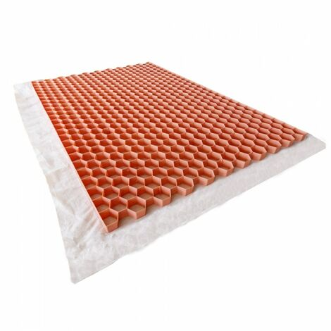 Stabilisateur gravier 1200 x 800 mm - Nidaplast - 0.96 m² - Rose