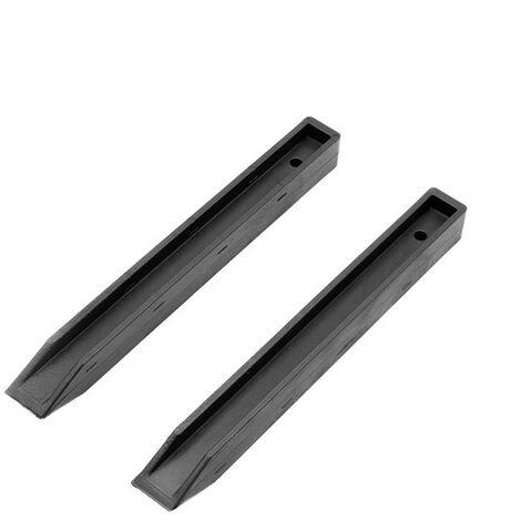 Lot de 10 piquets pour rouleau de bordure flexible - Hauteur : 38 cm