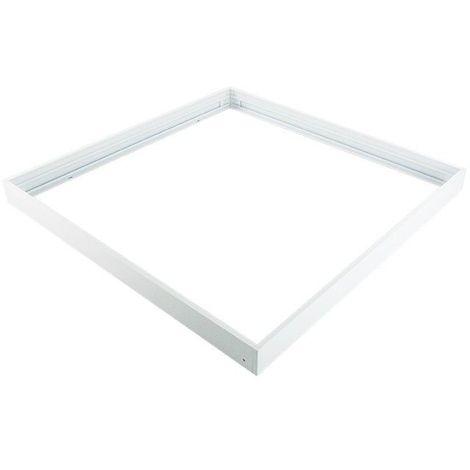 Kit de pose en saillie pour dalles led 300x300 ALU PC blanc