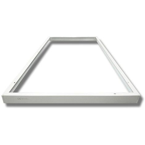 Kit de pose en saillie pour dalles led 600 x1200 ALU blanc