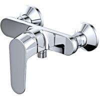 Robinet mitigeur douche mural BRIXTON pour salle de bain design