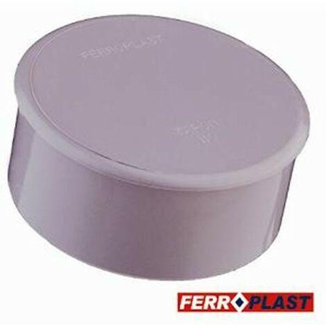TAPON CIEGO PVC GRIS 110MM. 205042